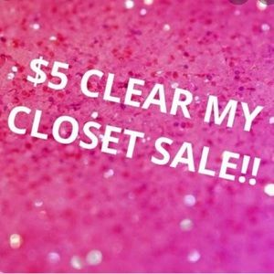 Other - ‼️$5 CLEAR MY CLOSET SALE‼️